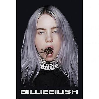 Billie Eilish Spider Poster