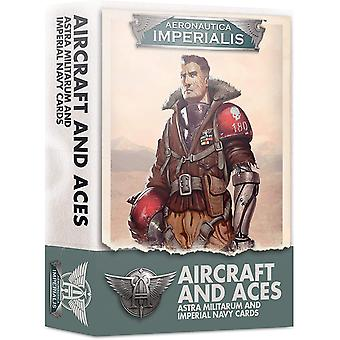 Games Workshop - Aeronautica Imperialis: Aircraft & Aces Imperial Navy Cards