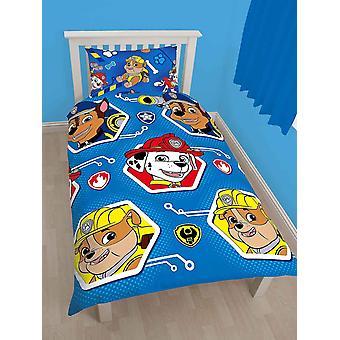 Paw Patrol Rescue Duvet Cover Bed Set 135x200+48x74cm