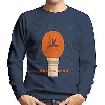 Jurassic Park Mosquito In Amber Men's Sweatshirt