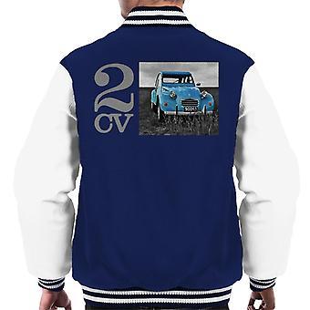 Citro?n 2CV Meadow Photo Men's Varsity Jacket