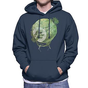 Fast and Furious Floral Montage Men's Sweatshirt à capuchon
