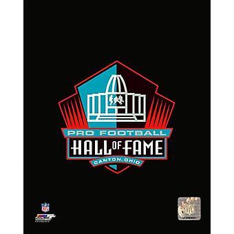 एनएफएल प्रो फुटबॉल हॉल ऑफ फेम लोगो फोटो प्रिंट