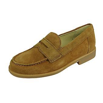 Cool Boys Hugo Suede Loafer / Slip on Shoes - Tan