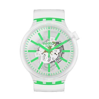 Fargeprøve So27e104 Greeninjelly Stor Fet Silikon Klokke
