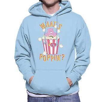 Care Bears Cheer Bear Whats Poppin Men's Hooded Sweatshirt