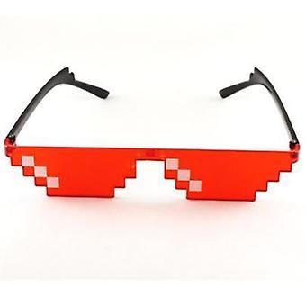 Thug Life Sunglasses, Pixelated Men, Women Brand Party, Eyeglasses Mosaic,