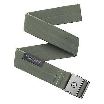 Arcade RANGER SLIM Unisex Lightweight Belts IVY GREEN - One Size