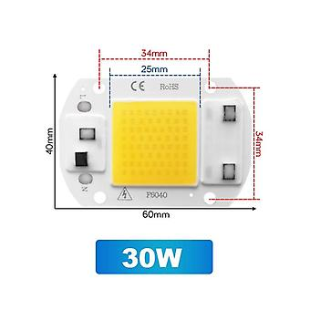Cob Led Chip 3w 5w 7w 20w 30w 50w Cool Warm No Need Driver Ac 220v Flood Light