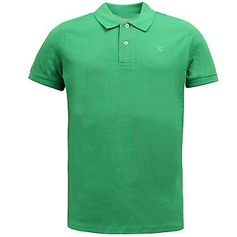 Diadora Sportswear Mens Polo T-Shirt Casual Top Green 102.161005 70293 UA88