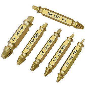 Screw Extractor, Drill Bit Set- Broken Screw, Bolt Remover, Stripped Demolition