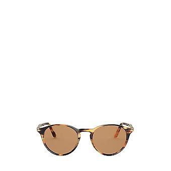 Persol PO3092SM striped honey unisex sunglasses