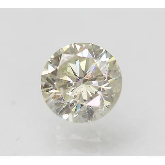 Zertifiziert 0.70 Karat I VS2 Round Brilliant Enhanced Natural Loose Diamond 5.59mm