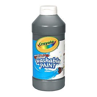 Pintura lavable Crayola, Negro, 16 Oz.