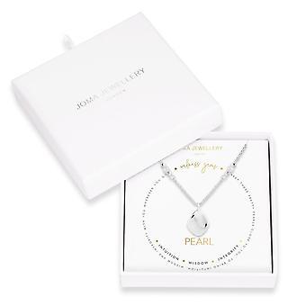 ジョマジュエリーウェルネス宝石シルバーパール45cm + 5cmエクステンダーネックレス 4225