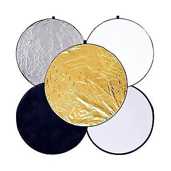 Riflettore esposizione fotografia - 5 dischi - diamter da 110 cm