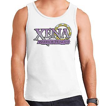 Xena Warrior Princess Purple Gradient Logo Men's Vest