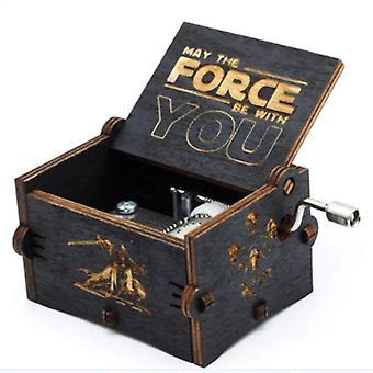 Star Wars -teema käsintehty kaiverrettu puinen laatikko käsityöt Cosplay