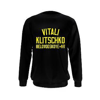 Vitali Klitschko Nyrkkeily Legenda Collegepaita