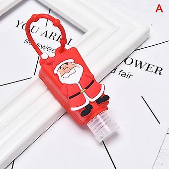 30ml Jul Silikon Hand Sanitizer Travel Bärbar Säker Gel Hållare