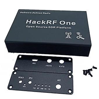 Hackrf One Sdr için Siyah Alüminyum Muhafaza Kapak Kılıfı Kabuğu