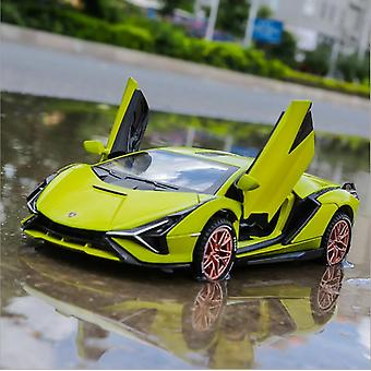 Lamborghini-sian Alloy Sports Car Limited Edition Model's Toy