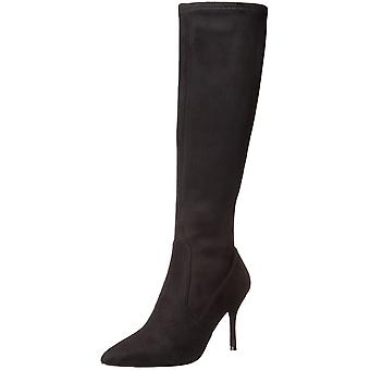Nueve mujeres occidental Calla puntiagudo dedo del pie hasta la rodilla moda botas