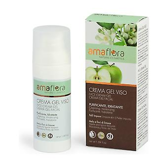 Purifying Apple and Lemon Blossom Face Gel Cream 50 ml of gel