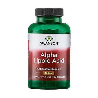 Alpha Lipoic Acid, 300mg 120 capsules