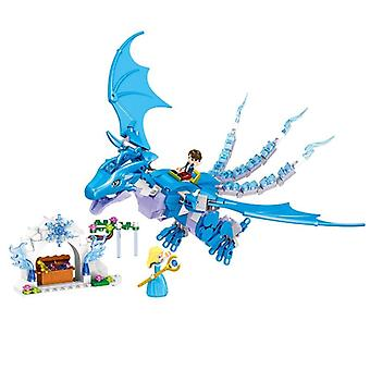 Elves Long After The Rescue Dragon Building Block Bricks Educational Toy