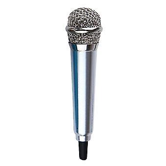 Prenosný 3,5 mm Stereo Studio Mikrofón Ktv Karaoke Mini Mikrofón pre mobilný telefón