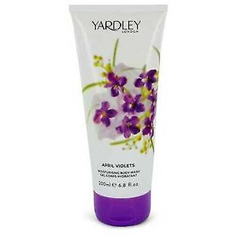 April Violets By Yardley London Shower Gel 6.8 Oz (women) V728-545965
