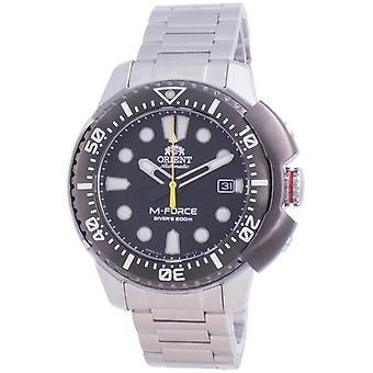 Orient M-force Ac0l 70th Anniversary Automatic Diver's Ra-ac0l01b00b Japan Made 200m Men's Watch