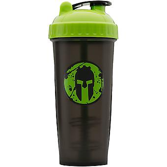 PerfectShaker Performa 28 oz. Spartan Race Shaker Cup Bottle - Green Beast
