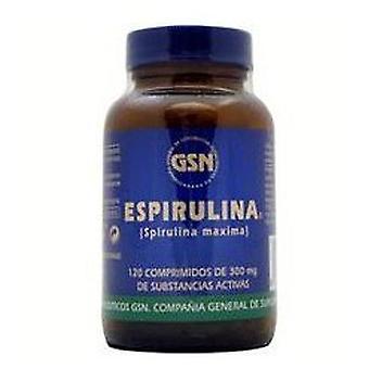 GSN Espirulina 120 X 300 Comp