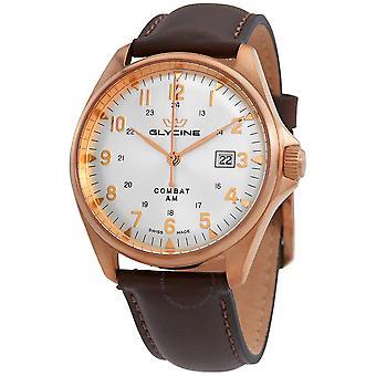 Glycine Combat 6 Automatic White Dial Men's Watch GL0286