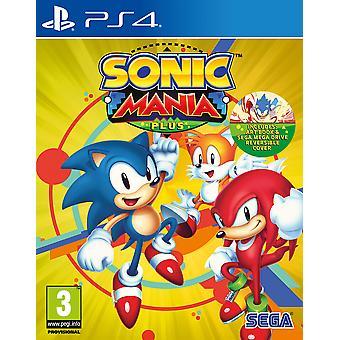 Mania Sonic Plus juego de PS4