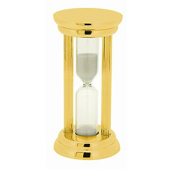 GTP Unisex 86x42mm Gold Plated on Alloy Glass 3 Minute Sand-Timer IMP804/G