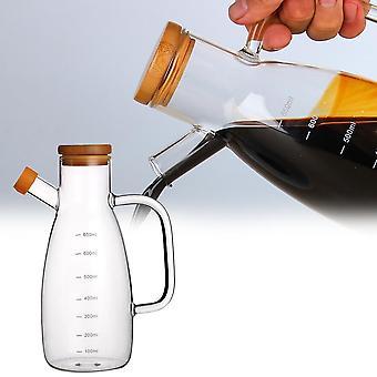 Nordic style 650 ml glass jar