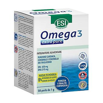 Extra Omega 3 as well 50 softgels