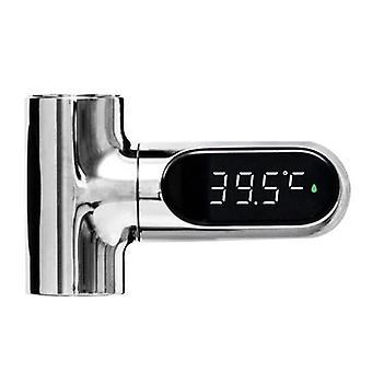 LED Diaplay Wodomierz Prysznic Wodociąg Owy przyrząd pomiarowy Dokładna Widoczna temperatura wody Miernik Baby Shower Łazienka Akcesoria