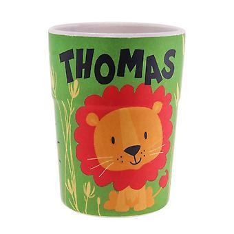 History & Heraldry Bamboo Crew Beaker Lions & Tigers Thomas