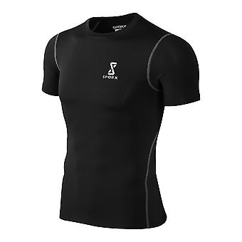 Men's Training Top Shirt Black