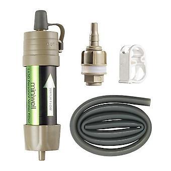 Sistema de filtro de agua 2000 litros capacidad de filtración al aire libre deporte camping herramienta de supervivencia de emergencia