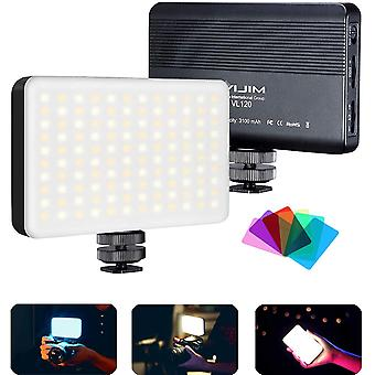 FengChun Led Videoleuchte, VIJIM VL120 Led Kamera Licht Dimmbare 3200k-5600k Farbtemperatur