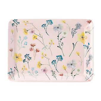 English Tableware Co. Pressed Flowers Scatter Tray