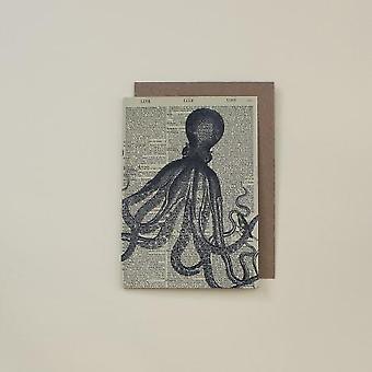 Kunstkort for blekksprutordbok
