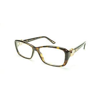 Chopard Eyeglasses Frame VCH 140S 0722 Acetate Tortoise Italy Made 55-15-140