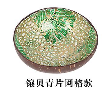 Natürliche Kokosnuss Schale eingelegt Hand gehalten Feuerwerk Geschirr Schale ungiftige Kokosnuss Schale Schale