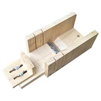 Handgemaakte Soal Tool hout Nieuwe Eenvoudige Multifunctionele Zeep Cutter Beveler Schaafmachine Tool Gradienter